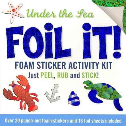 Foil It! Under the Sea By Peter Pauper Press (COR)